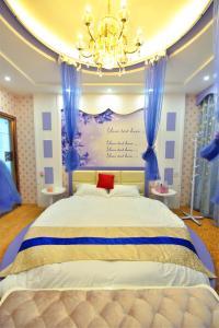 Zhaoxiahong Art hotel, Проживание в семье  Wujiaqiao - big - 228
