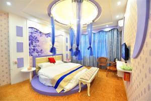 Zhaoxiahong Art hotel, Проживание в семье  Wujiaqiao - big - 227