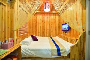 Zhaoxiahong Art hotel, Проживание в семье  Wujiaqiao - big - 223