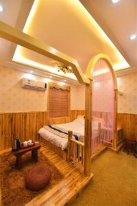Zhaoxiahong Art hotel, Проживание в семье  Wujiaqiao - big - 219