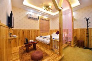 Zhaoxiahong Art hotel, Проживание в семье  Wujiaqiao - big - 213