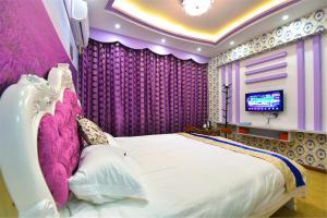 Zhaoxiahong Art hotel, Проживание в семье  Wujiaqiao - big - 208