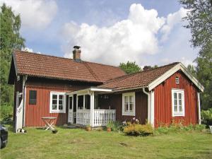 3 hvězdičkový chata Holiday Home Bor with a Fireplace 09 Älgaryd Švédsko
