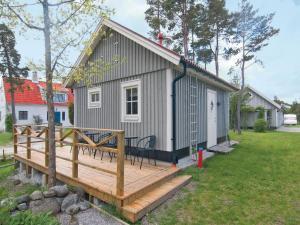 One-Bedroom Holiday home Lärbro 0 06, Dovolenkové domy  Valleviken - big - 1