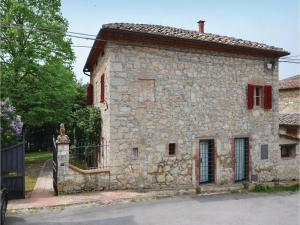 Three-Bedroom Holiday home with a Fireplace in Gaiole in Chianti SI, Dovolenkové domy  San Sano - big - 3
