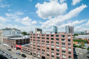 City-Appartements Nordkanalstraße, Apartmány  Hamburg - big - 107