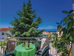 Apartment Malinska with Sea View I, Appartamenti  Malinska - big - 23