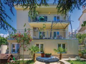 Apartment Malinska with Sea View I, Appartamenti  Malinska - big - 14