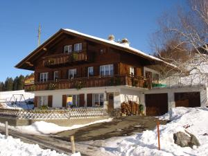 Chalet Sunneschyn, Apartments  Schwanden - big - 22