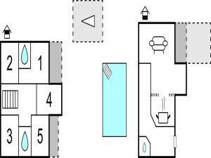 Five-Bedroom Holiday Home in Prolozac Donji, Holiday homes  Donji Proložac - big - 8