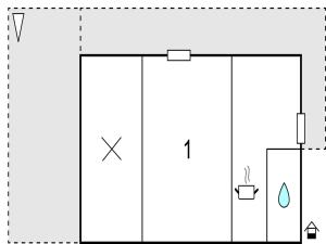 One-Bedroom Apartment in Jelsa, Apartmanok  Jelsa - big - 8