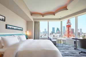 Renovated Panoramic Corner King Room with Tokyo Tower View - Non-Smoking