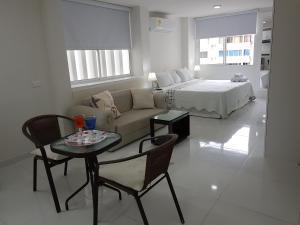 Espectaculares Vistas, Edificio Nautilus, Barrio El Laguito., Ferienwohnungen  Cartagena de Indias - big - 37