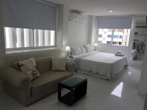 Espectaculares Vistas, Edificio Nautilus, Barrio El Laguito., Ferienwohnungen  Cartagena de Indias - big - 36