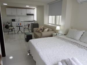 Espectaculares Vistas, Edificio Nautilus, Barrio El Laguito., Ferienwohnungen  Cartagena de Indias - big - 35