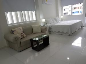 Espectaculares Vistas, Edificio Nautilus, Barrio El Laguito., Ferienwohnungen  Cartagena de Indias - big - 32