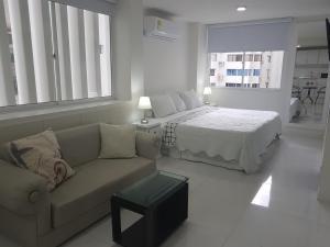 Espectaculares Vistas, Edificio Nautilus, Barrio El Laguito., Ferienwohnungen  Cartagena de Indias - big - 31