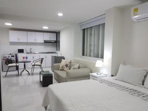 Espectaculares Vistas, Edificio Nautilus, Barrio El Laguito., Ferienwohnungen  Cartagena de Indias - big - 24