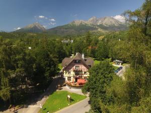3 hviezdičkový penzión Penzión Vila Park Tatranská Lomnica Slovensko
