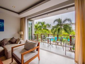 Аpartment in Pearl of Naithon, Ferienwohnungen  Nai Thon Beach - big - 21