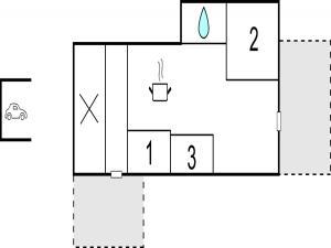 Three-Bedroom Holiday Home in Kirke Hyllinge, Holiday homes  Kirke-Hyllinge - big - 10