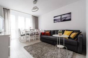 Zlota z dwoma sypialniami, Apartmány  Varšava - big - 4
