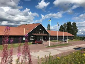 Chata Skilodge Sollerön Švédsko