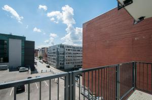 City-Appartements Nordkanalstraße, Apartmány  Hamburg - big - 120