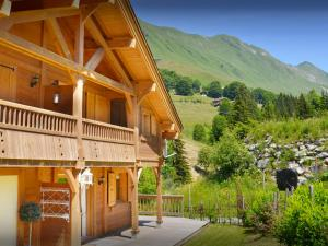 Chalet L'Ours Blanc, Horské chaty  Le Grand-Bornand - big - 19
