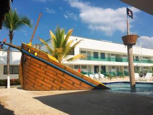Cabañas La Fragata, Apartmánové hotely  Coveñas - big - 14