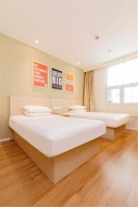 Hanting Hotel Bozhou Mengcheng, Szállodák  Csuangcsou - big - 2