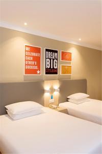 Hanting Hotel Bozhou Mengcheng, Szállodák  Csuangcsou - big - 3