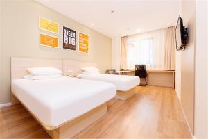 Hanting Hotel Bozhou Mengcheng, Szállodák  Csuangcsou - big - 52
