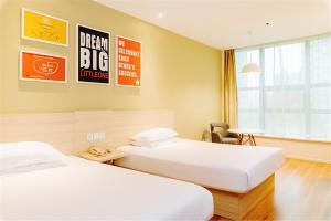Hanting Hotel Bozhou Mengcheng, Szállodák  Csuangcsou - big - 5