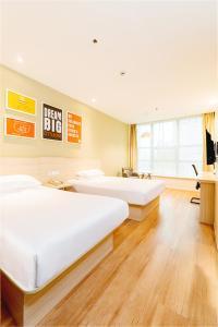 Hanting Hotel Bozhou Mengcheng, Szállodák  Csuangcsou - big - 47