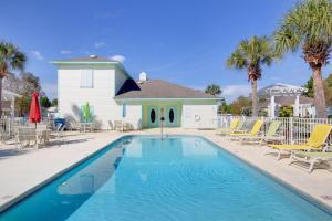 Orange Beach Villas - Beach Retreat Home, Dovolenkové domy  Orange Beach - big - 11