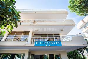 Hotel Fucsia, Szállodák  Riccione - big - 21