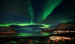 Rorbu i Lofoten, Holiday homes  Leknes - big - 4