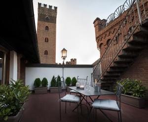 Castello Medici del Vascello, Apartmány  Asti - big - 14