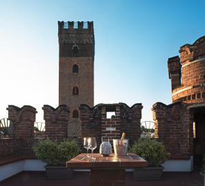 Castello Medici del Vascello, Apartmány  Asti - big - 2