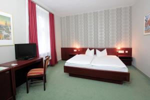Hotel Schweriner Hof, Отели  Штральзунд - big - 26
