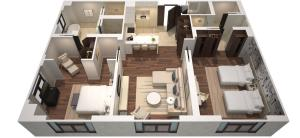 Two Bedroom Residence