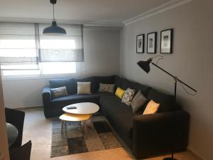 Chic appartement ANFA-WIFI-PARKING-BALCON
