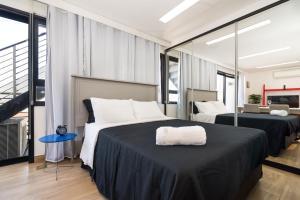 Apartamentos Vila Madalena, Apartmanok  São Paulo - big - 11