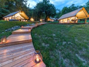 Chateau Ramšak, vineyard glamping resort