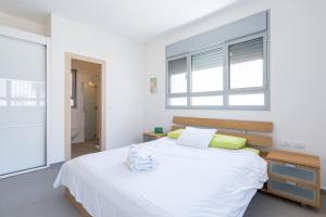 Kfar Saba Center Apartment, Appartamenti  Kefar Sava - big - 54