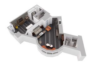 Horizon - Люкс с кроватью размера «king-size»