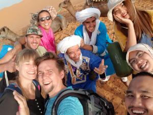 Marhaba Camp, Camel & Sandboarding, Luxury tents  Merzouga - big - 44
