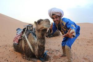 Marhaba Camp, Camel & Sandboarding, Luxury tents  Merzouga - big - 46