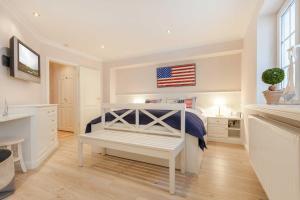 _Beach House Im Tal_ App_ 1, Apartmány  Wenningstedt - big - 9